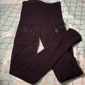Black Milk Clothing sporty striped fishnet hosiery